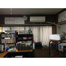 学習塾のエアコンカビ取りクリーニングの画像1