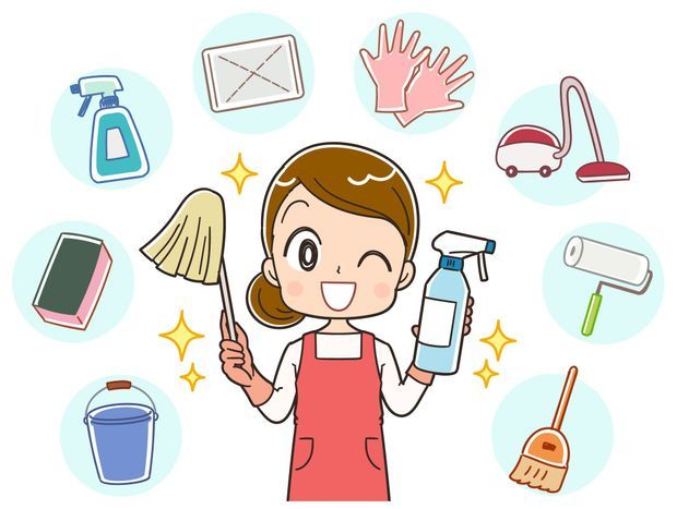 大掃除は計画的に進めよう!〜準備から当日まで〜 - くらしのマーケットマガジン